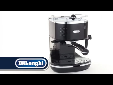 Delonghi Coffee Maker Eco310 : DeLonghi Icona Pump Coffee Machine ECO310 Blue Black White Red - YouTube