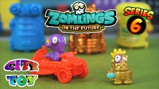 Los Zomlings in the Future Series 6 llegan a City Toy