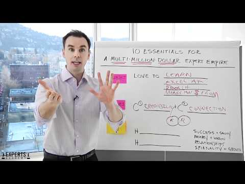 Experts Academy 10 Essentials w Brendon Burchard