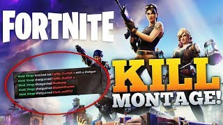 MOST INSANE FORTNITE KILLS MONTAGE! (Fortnite Twitch Moments Montage!)