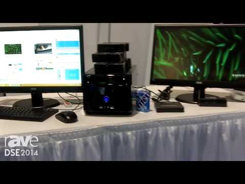 DSE 2014: Monitors Anywhere Demos VoL (VGA over LAN) Technology