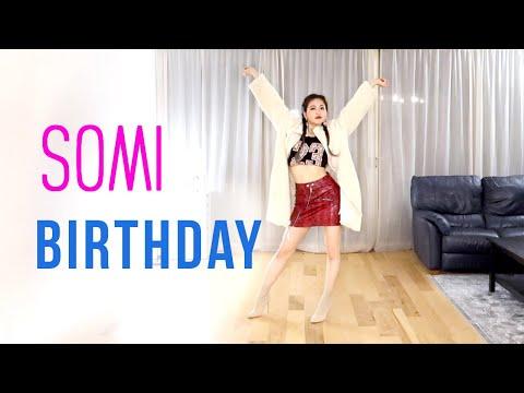 SOMI (전소미) - 'BIRTHDAY' Dance Cover   Ellen And Brian