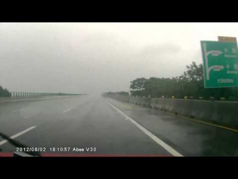Авария BMW M3