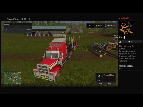 First Video farming simulator 17 live stream