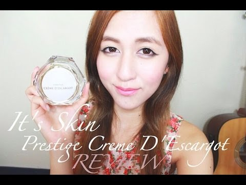 Treat Acne & Acne Scarring with Snail Cream! It's Skin Prestige Creme D'Escargot Review