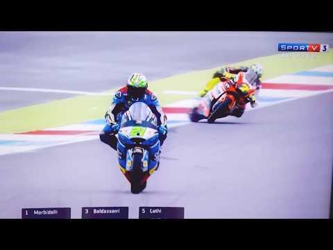 Lorenzo Baldassarri Crash TT Circuit Assen -Slow