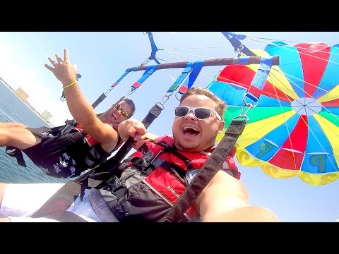 EPIC PARASAILING IN THE GULF OF MEXICO!