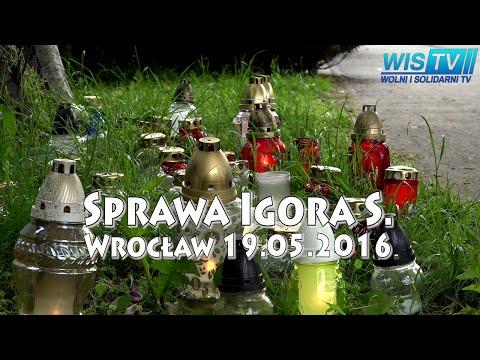 WIS TV Sprawa Igora S. Wrocław 18-05-2016 - RELACJA Z ZADYMY