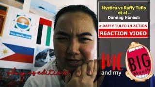 Mystica vs Raffy Tulfo, Nino Barzaga and Drew Olivar | Raffy Tulfo Reaction Video