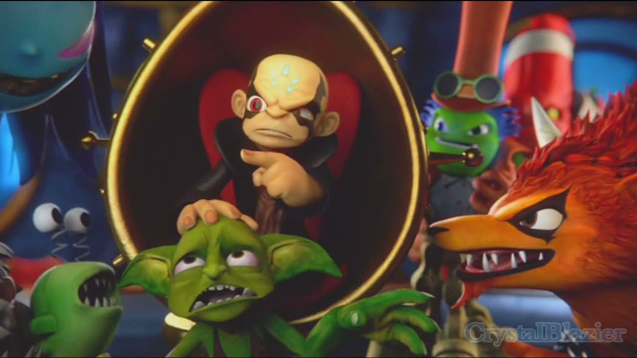 Skylanders: Trap Team - Doom Raiders Cutscenes + Capture ...