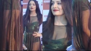 Celina Jaitly Hot In Transparent Dress !