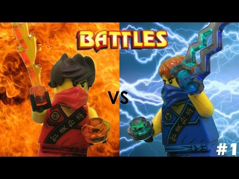 Lego Ninjago: Kai vs Jay (Tournament)