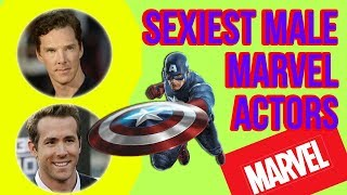Top 10 Sexiest Male Marvel Actors 2018 | Marvel Studio Hottest Super Heroes