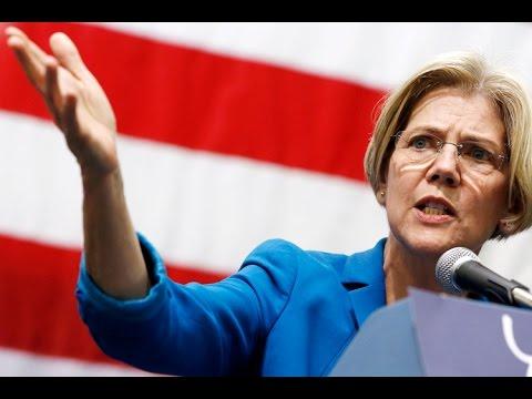 Elizabeth Warren Quoting Cenk Uygur?