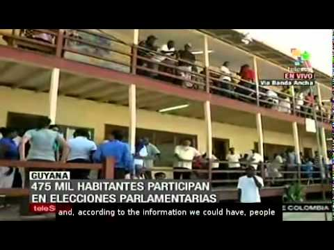 Guyanese are voting to renew the National Assembly