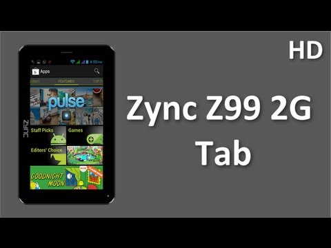Zync Z99 2G Tab Price and Specification New Zync 2G Tab