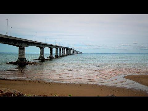 GGC - 36 - The 12.9km Confederation Bridge from PEI to New Brunswick