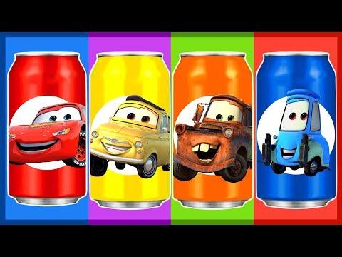 Мультик. ТАЧКИ. Учим цвета. Learn Colors. Fanta. Фанта. Ам Ням. Disney Cars
