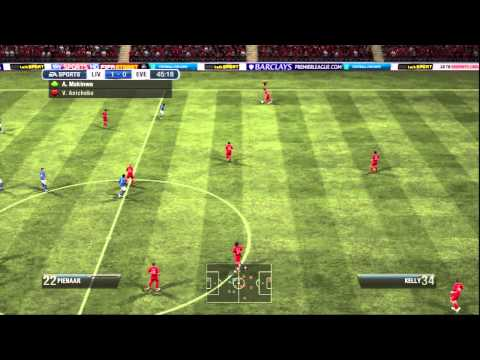 FIFA 12 LIVERPOOL Career Mode S1 EP37 v EVERTON (manual & legendary)