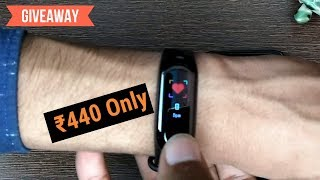 ₹440/- M3 Band Unboxing & Review - Giveaway - Color Display & Blood Pressure - 7startech
