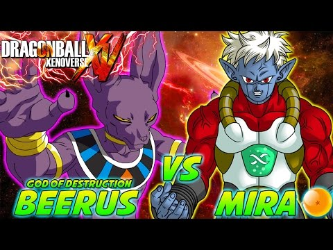 Dragonball Z: What If Battle - Beerus Vs Mira video