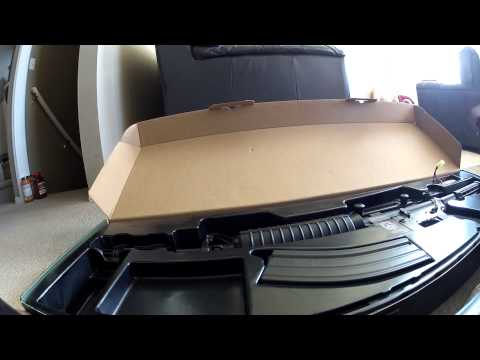 G&G GR 16 M4 Blow Back Airsoft Unboxing/Review