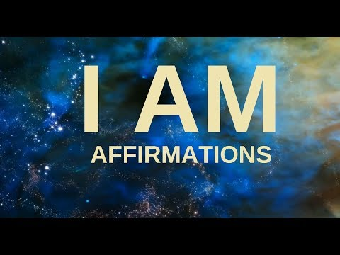 """Affirmations for Health, Wealth, Happiness, Abundance """"I AM"""" (21 days to a New You!)"""