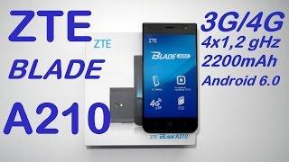 ZTE Blade A210. Обзор.