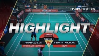 Download Lagu Muhammad Nizar (Pelita Bakrie Jakarta) VS Ari Putra Pamungkas (KOBAR) Gratis STAFABAND