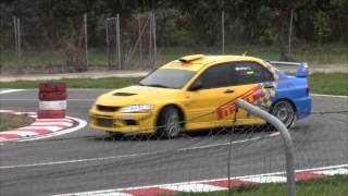 Kartodromo Riviera del Corallo 21-12-2014 By Miky-Video