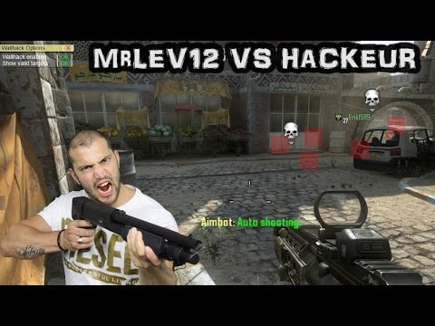 MrLEV12 contre un fucking Hackeur (Wallhack sur Black Ops 2)