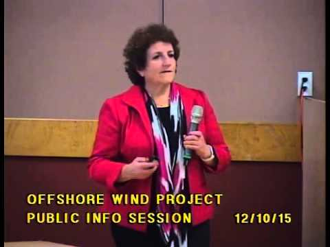 12.10.15 Public Information Workshop - Trident Winds Offshore Wind Energy Project