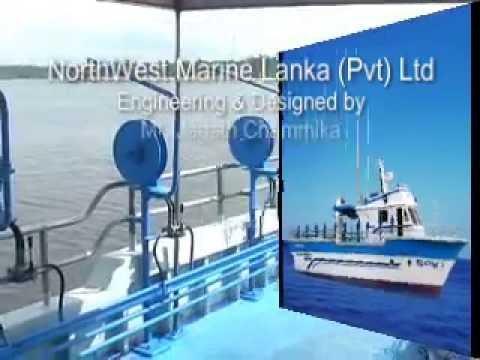 59' Bottom Line Fishing Vessel - Fiberglass BottomLine Fishing Boats from Sri Lanka