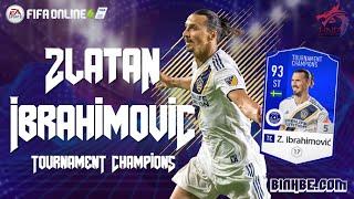 FIFA Online 4 | Lần đầu trải nghiệm Zlatan Ibrahimovic TC