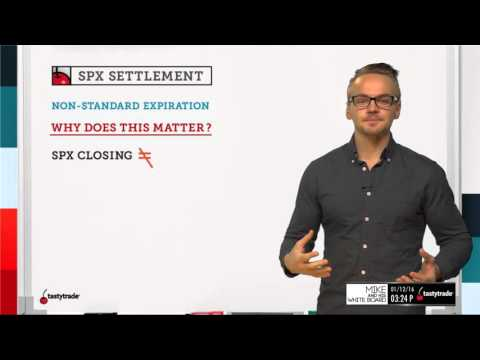 SPX Settlement | Options Trading Concepts