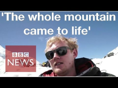 Nepal Earthquake: BBC journalist on Everest when quake hit - BBC News
