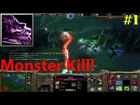 DoTa 6.83d - Visage, Necro'lic ★ Monster KILL! #1