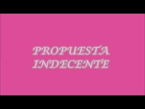 Romeo Santos- Propuesta Indecente lyrics