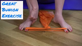 Great Bunion Exercise - Strengthening the Feet