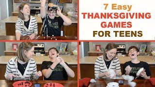 7 Best Thanksgiving Party Games for Teens! | Family Fun Every Day