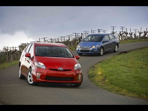 Hybrid Wars! - Toyota Prius Vs Honda Insight - Part 2