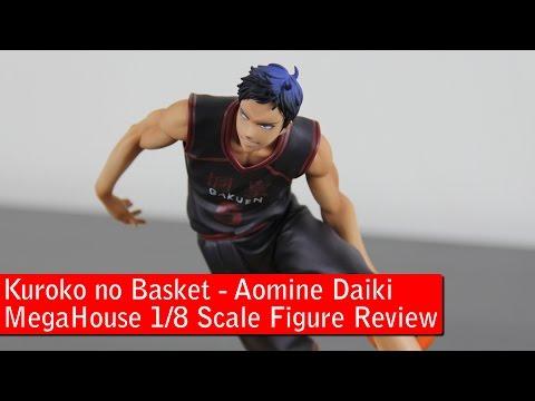 MegaHouse 1/8 Scale Aomine Figure Review - Kuroko no Basket 黒子のバスケ