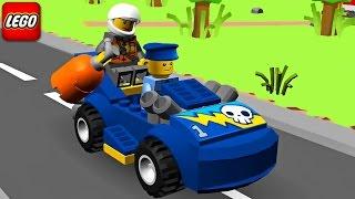Phim hoạt hình ôtô cảnh sát Lego đuổi bắt cướp ll Hành trình phưu lưu của Lego cảnh sát