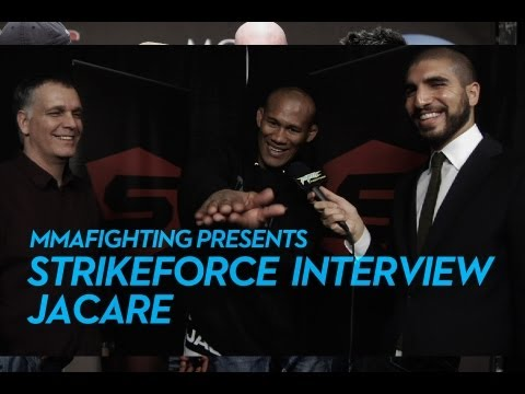 Strikeforce: Jacare Tells UFC Middleweights He's Coming