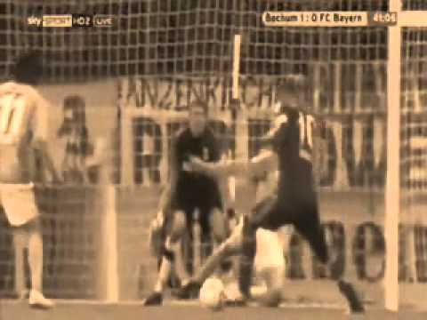 Best Dive Ever : Arjen Robben ! Bayern Munich Vs Bochum