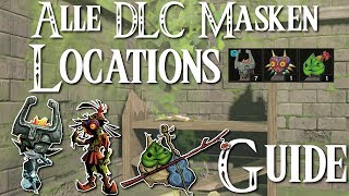 ZELDA: BREATH OF THE WILD - Alle DLC Masken Locations - Guide