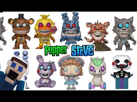 Five Nights at Freddy's Twisted Ones FNAF New Funko Pop Figures 2018 Checklist Exclusives review