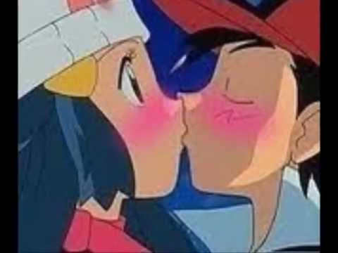 Pearlshipping Ash and Dawn Kissin U