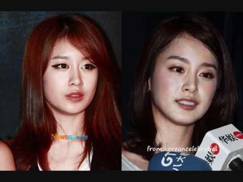 Kim Tae Hee Ji Yeon JiYeon and Kim Tae Hee