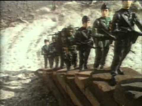 uk British vintage retro 80s advert commercial  80s advert Action Force toys